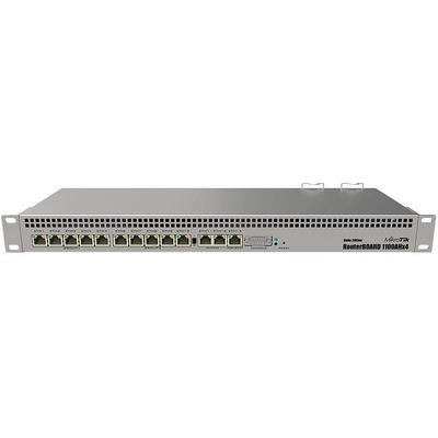 MIKROTIK MT RB1100Dx4 MikroTik RB1100AHx4 Dude Edition 1.4GHz 1GB RAM, 13xGig LAN, 19 60GB M.2 SSD