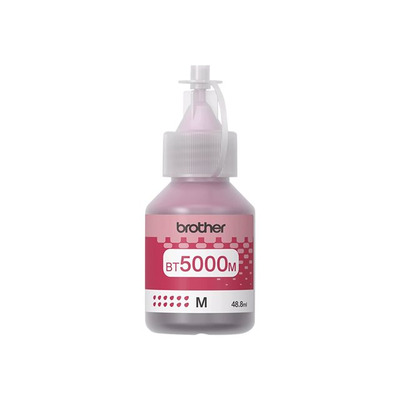 BROTHER BT5000M Tusz Brother BT5000M magenta 5 000str DCPT300 / DCPT500W / DCPT700W