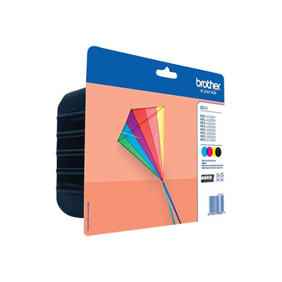 BROTHER LC223VALBP Zestaw Brother LC223VALBP CMYK Blister Pack 550str DCP-J4120DW / MFC-J4420DW