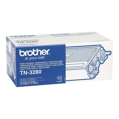 BROTHER TN3280 Toner Brother TN3280 black 8000str HL5340D / HL5340DL / HL5350DN / DCP8070D