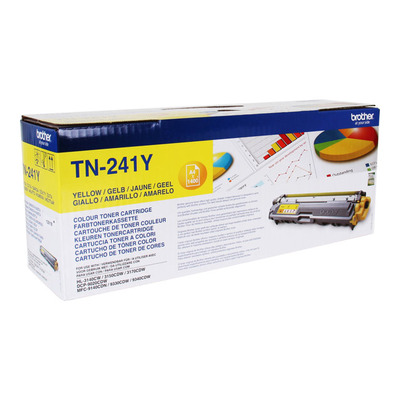 BROTHER TN241Y Toner Brother TN241 yellow 1 400str HL-3140CW / 3150 / 3170 / DCP-9020