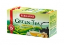 HERBATA TEEKANNE (20) GREEN TEA GINGER & LEMON