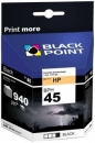 Tusz Black Point BPH45 | Black | 42 ml | 940 str. | HP 51645
