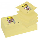Bloczek samop. POST-IT Super sticky Z-Notes (R330-12SS-CY), 76x76mm, 90 kart., żółty