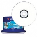 Verbatim CD-R | 700MB | x52 | cakebox 50szt do nadruku | DataLife+ AZO|wycofywan