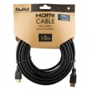 4World Kabel HDMI - HDMI, High Speed z Ethernet (v1.4), 3D, HQ, BLK, 10m