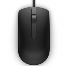 Dell MS116 Wired Optical Mouse Black