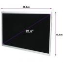 Qoltec Matryca LED 15.6´´ 1366*768 GLOSSY Slim - 30Pin, GRADE A+