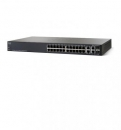Cisco SF300-24PP 24-port 10/100 PoE+ Managed Switch w/Gig Uplinks